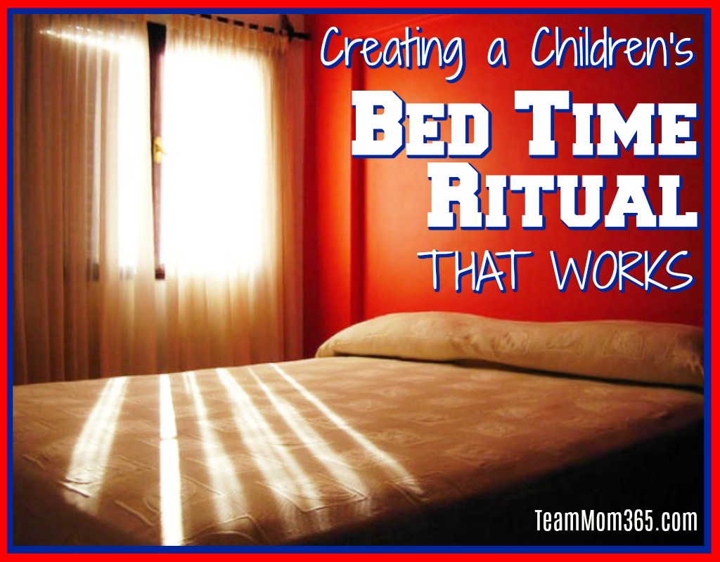 Creating a Children's Bedtime Ritual That Works