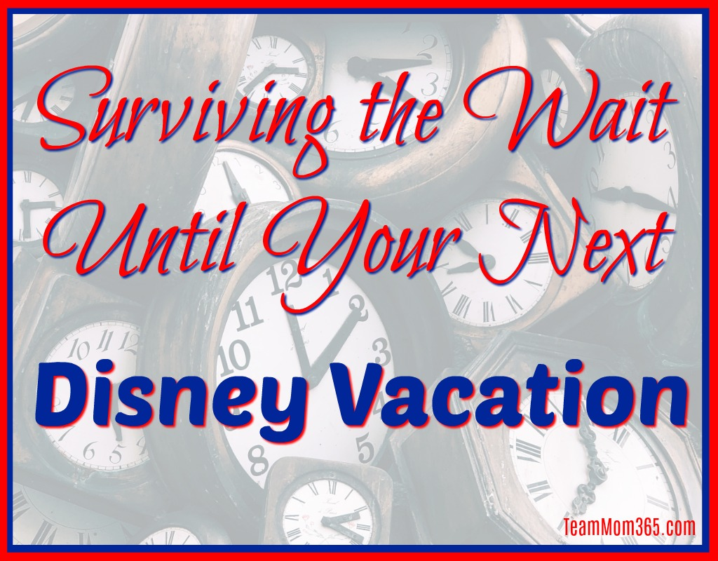 Surviving the Wait Until Your Next Disney Vacation