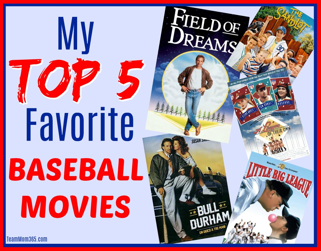 Top 5 Favorite Baseball Movies