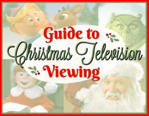Guide to Christmas Television Viewing