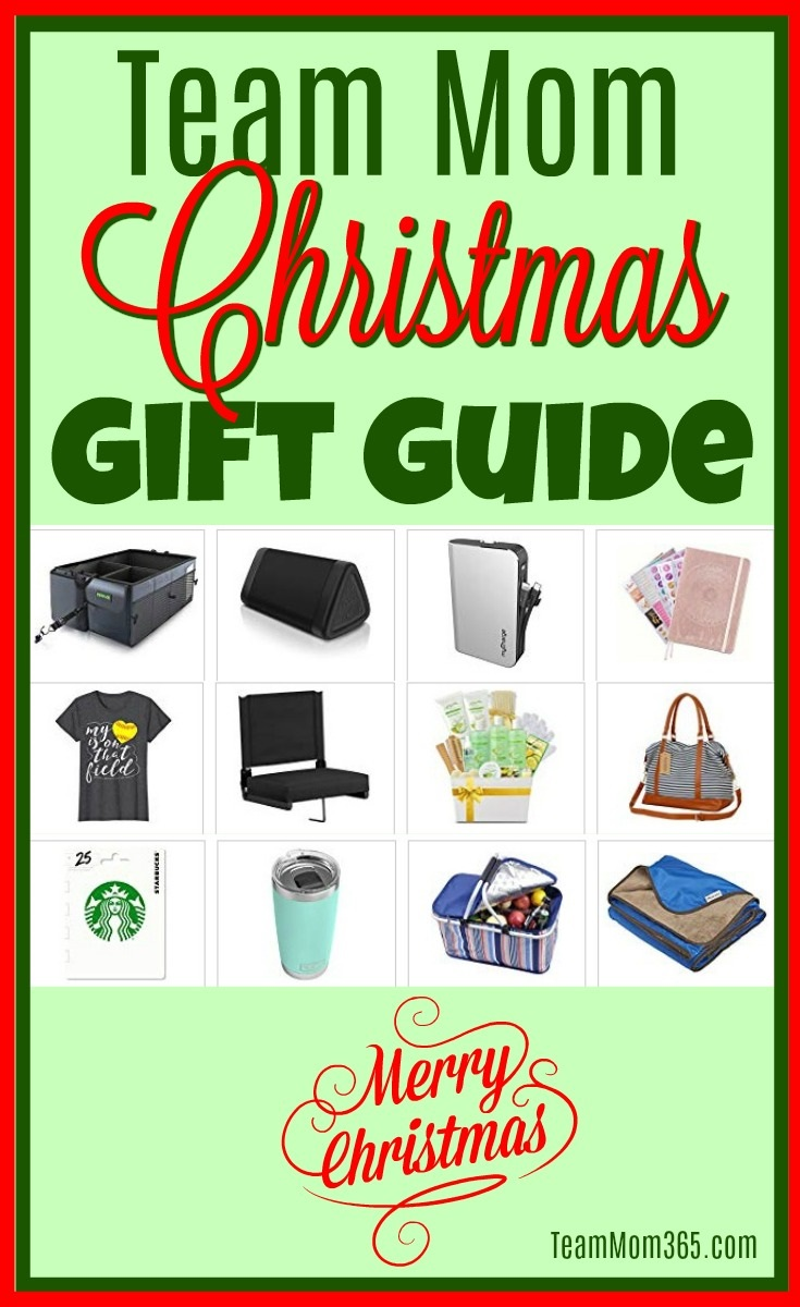 Team Mom Christmas Gift Guide