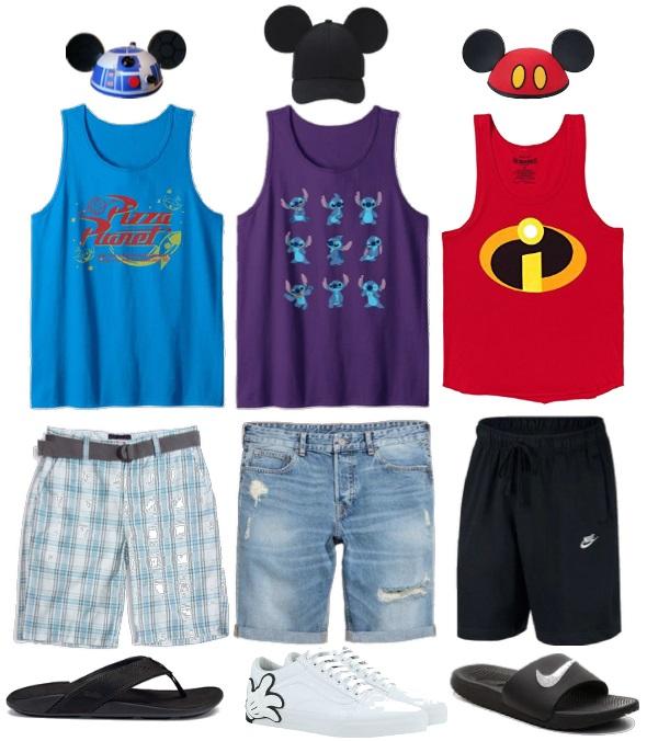 What to Wear at Disney Men