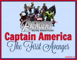 Marvel Movie Marathon Captain America First Avenger FB