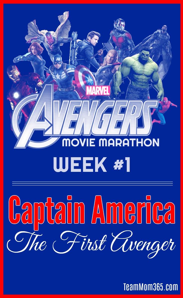 Marvel Movie Marathon Captain America
