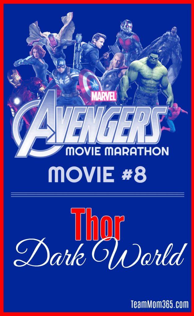Marvel Movie Marathon Thor Dark World