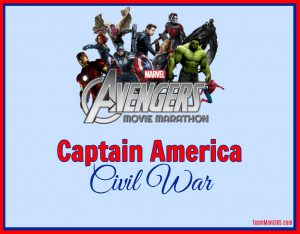 Marvel Movie Marathon Captain America Civil War