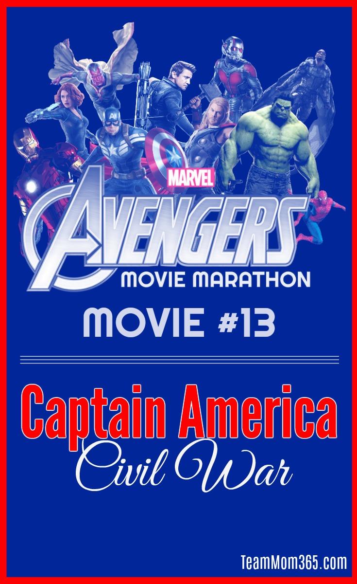 Marvel Movie Marathon Captain America Civil War