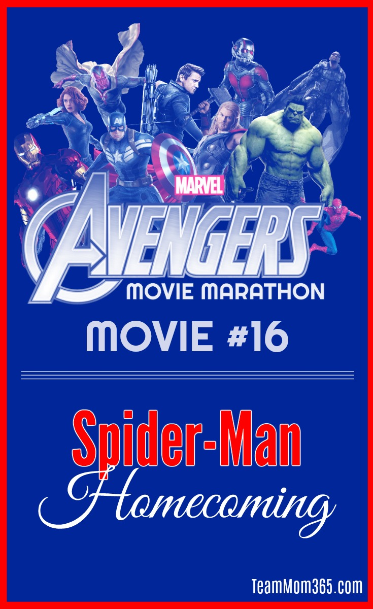 Marvel Movie Marathon Spiderman Homecoming