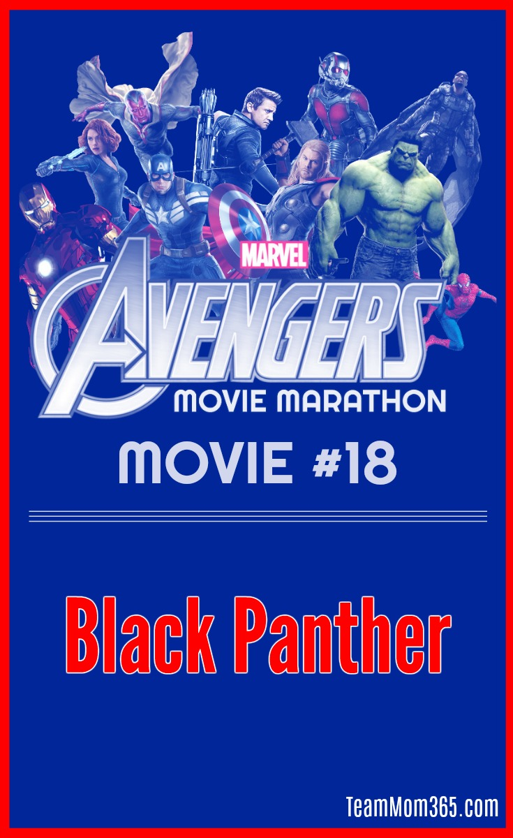 Marvel Movie Marathon Black Panther