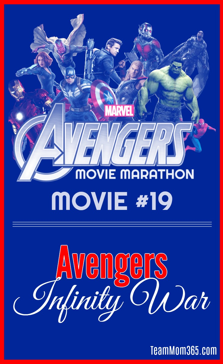 Marvel Movie Marathon Avengers Infinity War