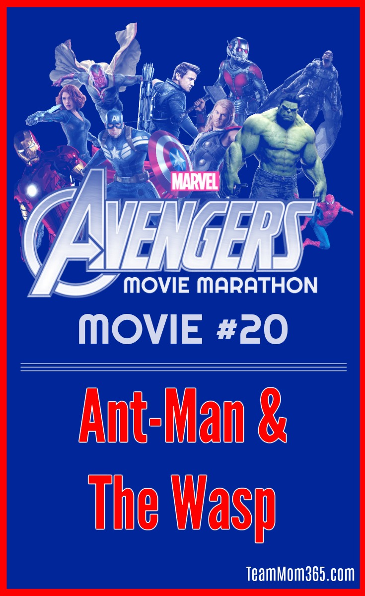 Marvel Movie Marathon Ant Man and the Wasp