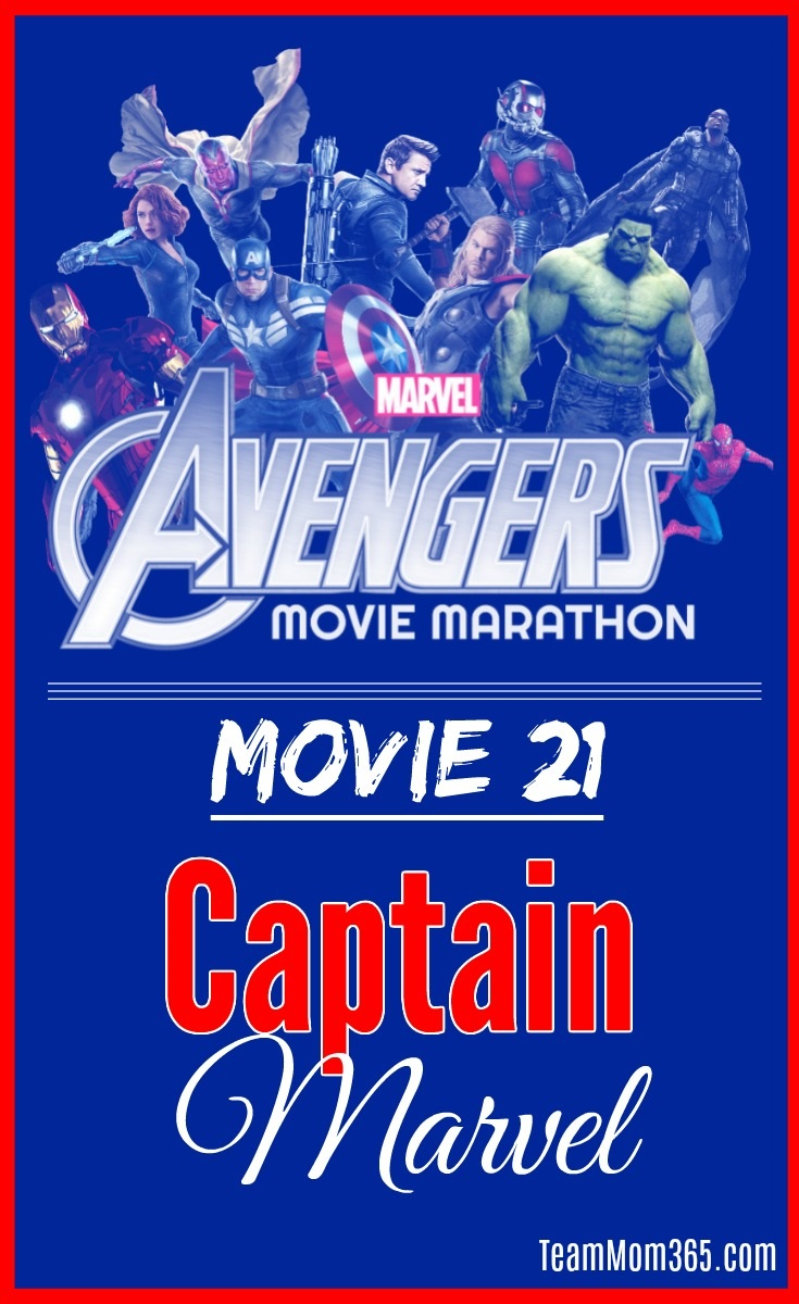 Marvel Movie Marathon Captain Marvel