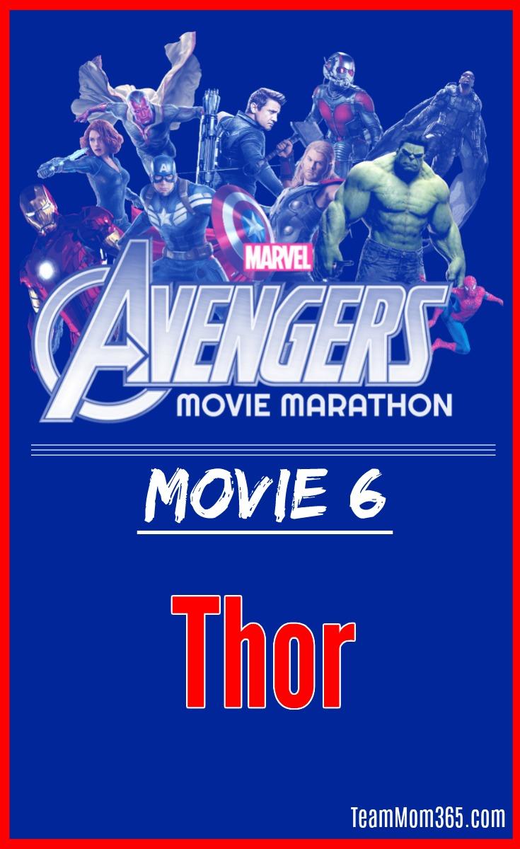Marvel Movie Marathon