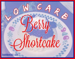 Low Carb Berry Shortcake