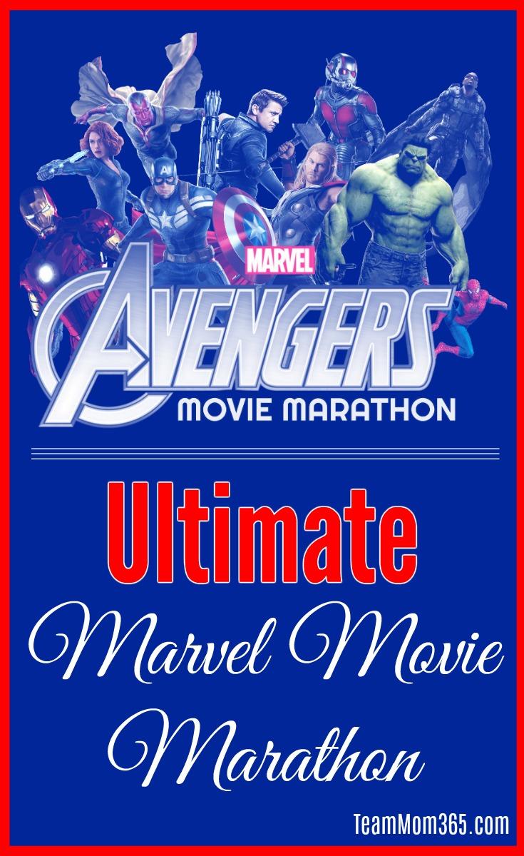 Ultimate Marvel Movie Marathon