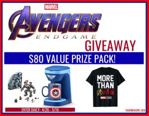 Avengers End Game Give Away