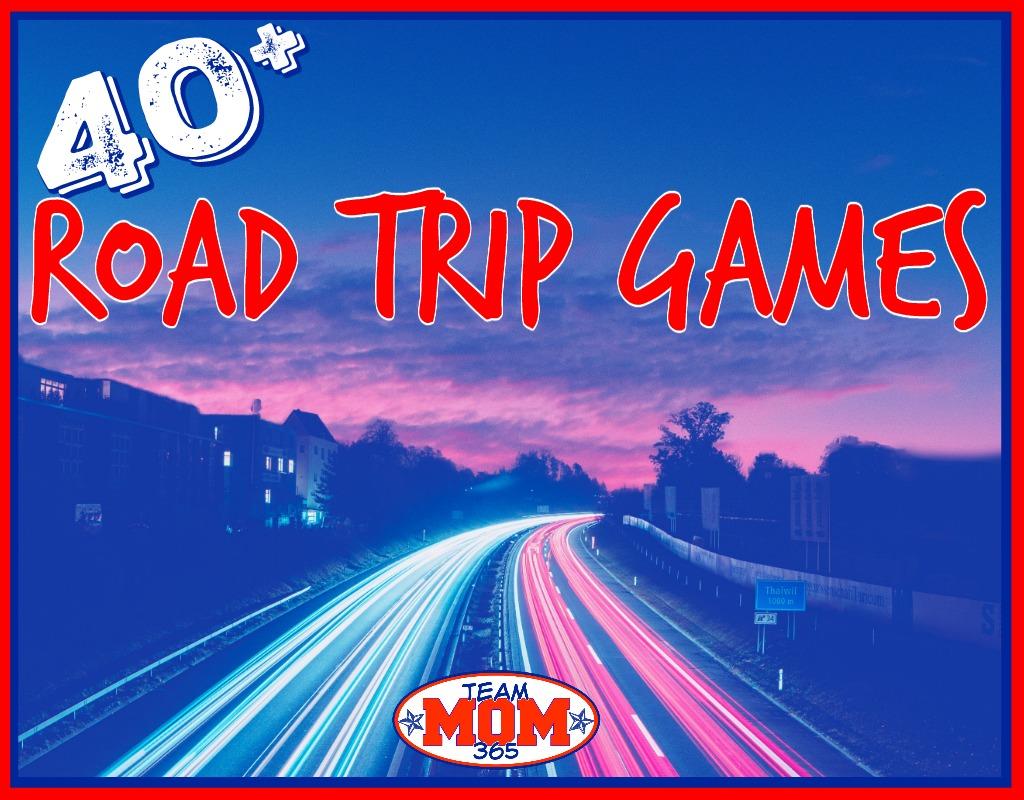 40 Road Trip Games