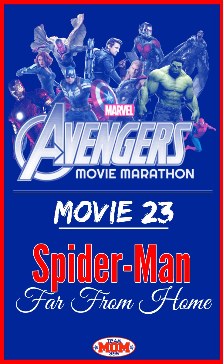 Marvel Movie Marathon Spider-Man Far From Home