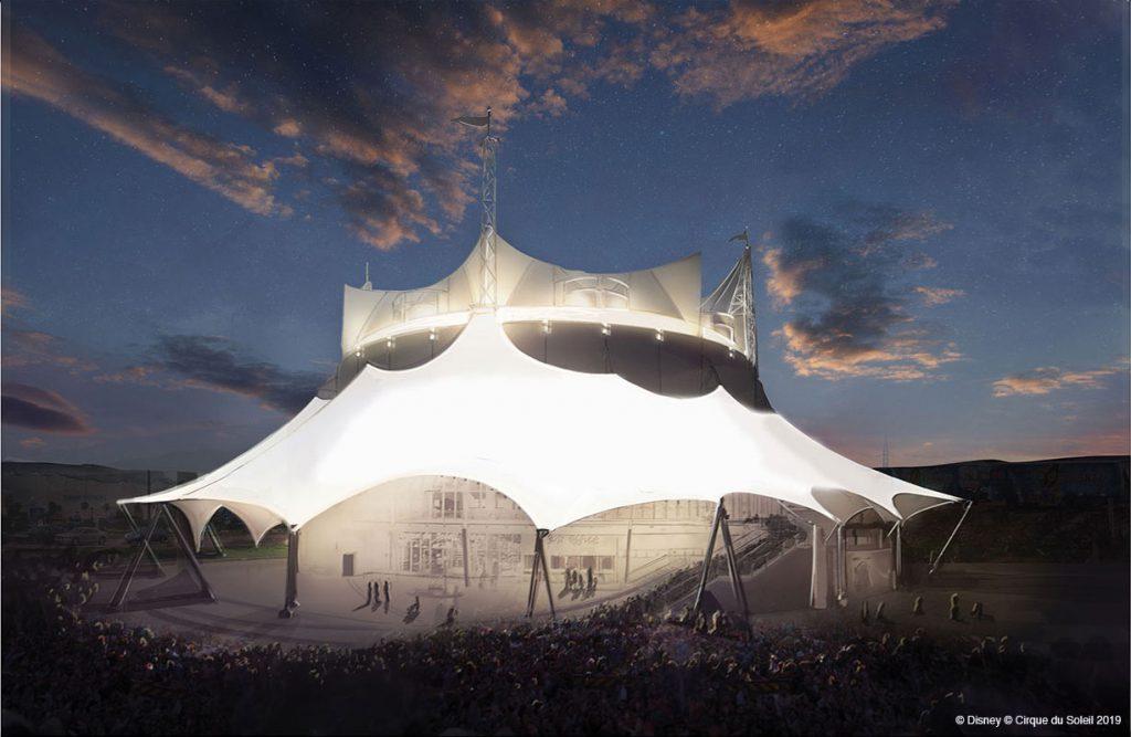 Cirque de Soleil Disney Springs