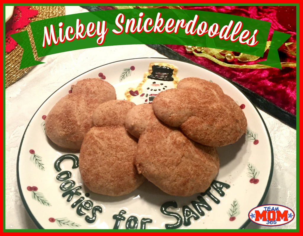 Mickey Snickerdoodles