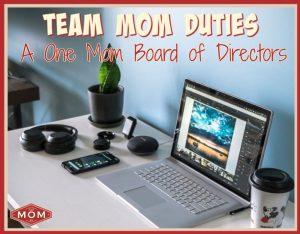 Team Mom Duties