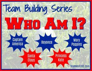 Team Building Who Am I