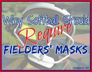 Why Softball Should Require Fielders' Masks