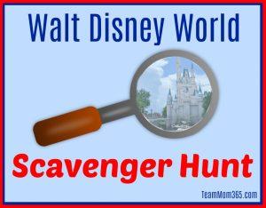 Walt Disney World Scavenger Hunts