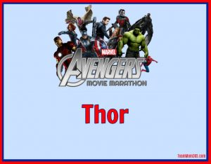 Marvel Movie Marathon Thor