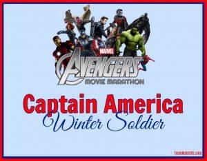 Marvel Movie Marathon Captain America Winter Soldier