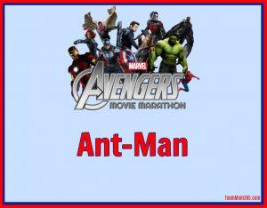 Marvel Movie Marathon Ant-Man