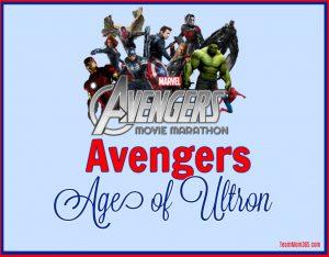 Marvel Movie Marathon Avenger Age of Ultron