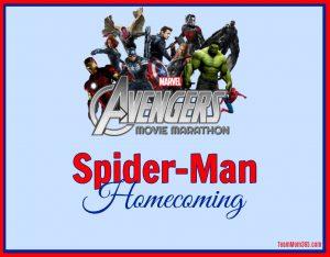 Marvel Movie Marathon Spiderman Homecoming