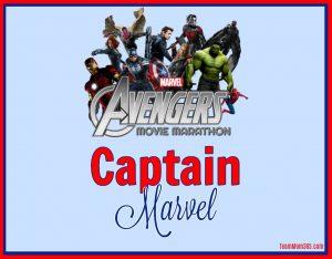 Marvel Movie Marathon Captain Marvel