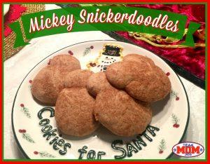 Mickey Snickerdoodles